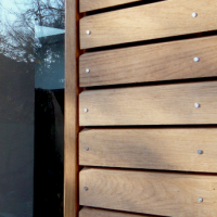 AD Sweet Chestnut cladding