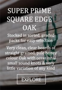 super prime oak square edge oak
