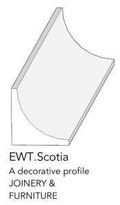 joinery and furniture profile and moulding EWT scotia