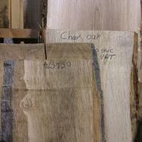 these are some super chunky bits of Oak waney edge in the timber rack