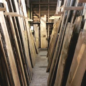 timber rack bay of waney edge board central